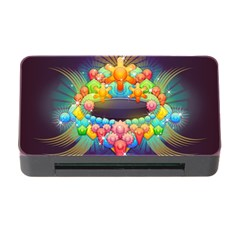 Badge Abstract Abstract Design Memory Card Reader With Cf