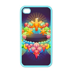 Badge Abstract Abstract Design Apple Iphone 4 Case (color)