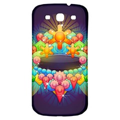 Badge Abstract Abstract Design Samsung Galaxy S3 S Iii Classic Hardshell Back Case