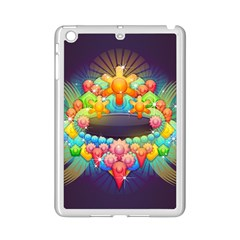 Badge Abstract Abstract Design Ipad Mini 2 Enamel Coated Cases