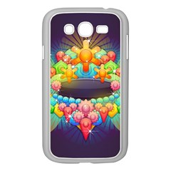 Badge Abstract Abstract Design Samsung Galaxy Grand Duos I9082 Case (white) by Nexatart