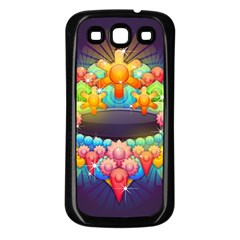 Badge Abstract Abstract Design Samsung Galaxy S3 Back Case (black)