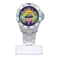 Badge Abstract Abstract Design Plastic Nurses Watch