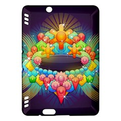 Badge Abstract Abstract Design Kindle Fire Hdx Hardshell Case