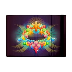 Badge Abstract Abstract Design Ipad Mini 2 Flip Cases by Nexatart