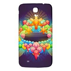 Badge Abstract Abstract Design Samsung Galaxy Mega I9200 Hardshell Back Case