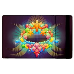 Badge Abstract Abstract Design Apple Ipad Pro 9 7   Flip Case by Nexatart