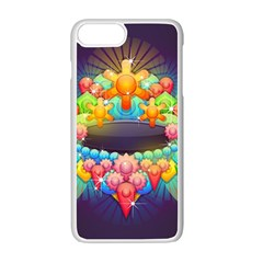 Badge Abstract Abstract Design Apple Iphone 7 Plus Seamless Case (white)