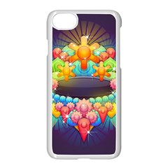 Badge Abstract Abstract Design Apple Iphone 7 Seamless Case (white)