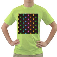 Lanterns Background Lamps Light Green T Shirt