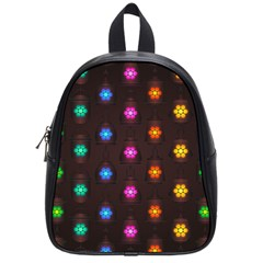Lanterns Background Lamps Light School Bag (small)