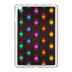 Lanterns Background Lamps Light Apple Ipad Mini Case (white)