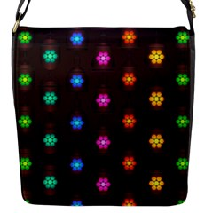 Lanterns Background Lamps Light Flap Messenger Bag (s)