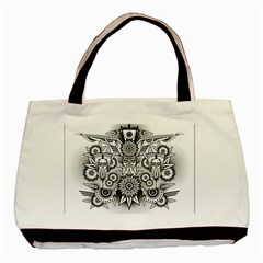 Forest Patrol Tribal Abstract Basic Tote Bag