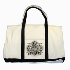 Forest Patrol Tribal Abstract Two Tone Tote Bag