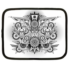 Forest Patrol Tribal Abstract Netbook Case (large)