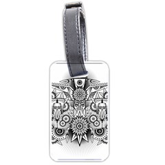 Forest Patrol Tribal Abstract Luggage Tags (two Sides)