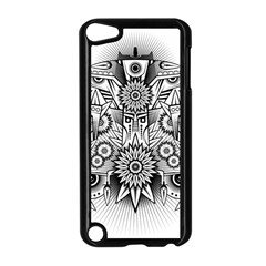 Forest Patrol Tribal Abstract Apple Ipod Touch 5 Case (black)