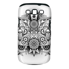 Forest Patrol Tribal Abstract Samsung Galaxy S Iii Classic Hardshell Case (pc+silicone)