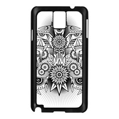 Forest Patrol Tribal Abstract Samsung Galaxy Note 3 N9005 Case (black)