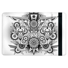 Forest Patrol Tribal Abstract Ipad Air Flip