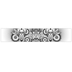 Forest Patrol Tribal Abstract Large Flano Scarf