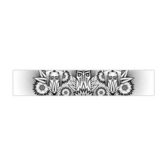 Forest Patrol Tribal Abstract Flano Scarf (mini)