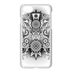 Forest Patrol Tribal Abstract Apple Iphone 7 Seamless Case (white)