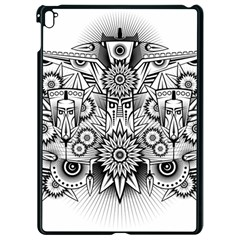 Forest Patrol Tribal Abstract Apple Ipad Pro 9 7   Black Seamless Case by Nexatart