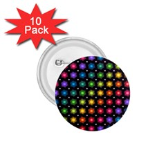 Background Colorful Geometric 1 75  Buttons (10 Pack)
