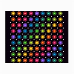 Background Colorful Geometric Small Glasses Cloth