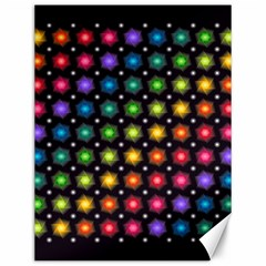 Background Colorful Geometric Canvas 12  X 16