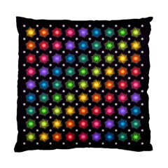 Background Colorful Geometric Standard Cushion Case (two Sides)