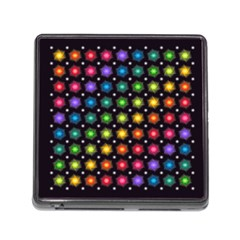 Background Colorful Geometric Memory Card Reader (square)