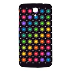 Background Colorful Geometric Samsung Galaxy Mega I9200 Hardshell Back Case