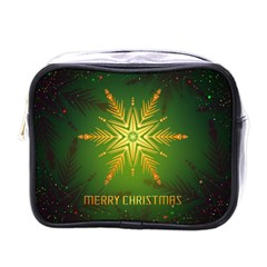 Christmas Snowflake Card E Card Mini Toiletries Bags