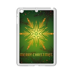 Christmas Snowflake Card E Card Ipad Mini 2 Enamel Coated Cases