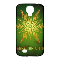 Christmas Snowflake Card E Card Samsung Galaxy S4 Classic Hardshell Case (pc+silicone)