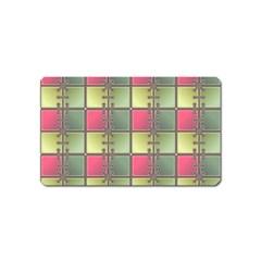 Seamless Pattern Seamless Design Magnet (name Card)