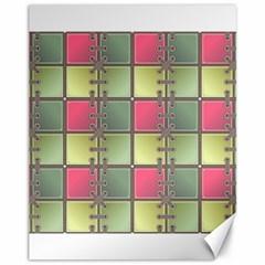 Seamless Pattern Seamless Design Canvas 11  X 14