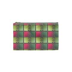 Seamless Pattern Seamless Design Cosmetic Bag (small)