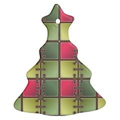 Seamless Pattern Seamless Design Ornament (christmas Tree)