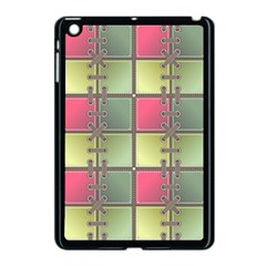 Seamless Pattern Seamless Design Apple Ipad Mini Case (black)