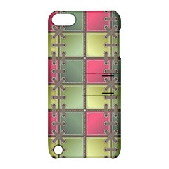 Seamless Pattern Seamless Design Apple Ipod Touch 5 Hardshell Case With Stand by Nexatart