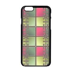 Seamless Pattern Seamless Design Apple Iphone 6/6s Black Enamel Case