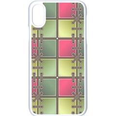 Seamless Pattern Seamless Design Apple Iphone X Seamless Case (white)