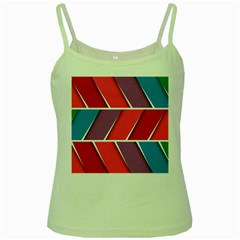 Abstract Background Colorful Green Spaghetti Tank by Nexatart