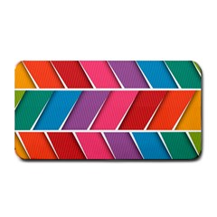 Abstract Background Colorful Medium Bar Mats