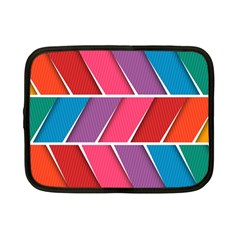 Abstract Background Colorful Netbook Case (small)