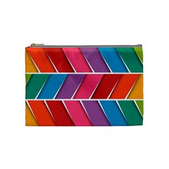 Abstract Background Colorful Cosmetic Bag (medium)